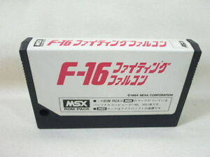 MSX-F16-FIGHTING-FALCON-Cartridge-only-Import-Japan-Video-Game-msx