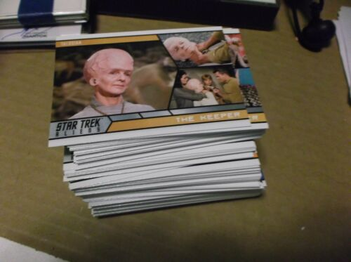 Star Trek Aliens Trading Cards Complete Core Set. 2014 Rittenhouse Archives