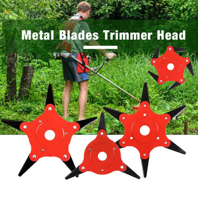 6-3 Steel Blade Razor 65Mn Lawn Mower Grass Eater Trimmer Head Brush Cutter