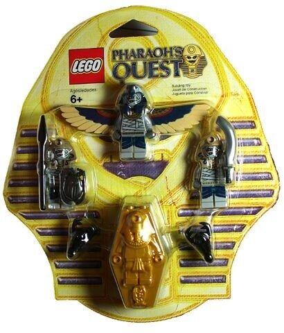 Lego Pharaohs Quest, 853176 Skeleton Mummy Battle Pack