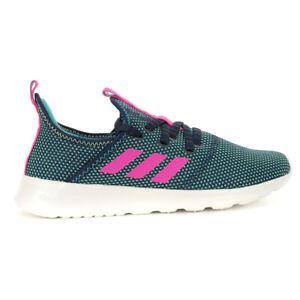 Adidas Women's Cloudfoam Pure Legend Ink/Shock Pink Shoes EF9395 NEW