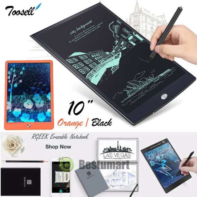 Finance Plan Kids Graphics Tablets 11.5 inch Electronic LCD Writing Tablet Drawing Pad Kids Painting Board Gift Black