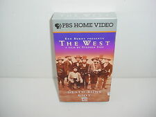 The West Death Runs Riot PBS Time Life VHS Video Tape Movie Episode 4