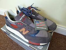 New Balance 998 DBR Mid Century Modern -Made in USA -10UK *NEW sold out RRP £165