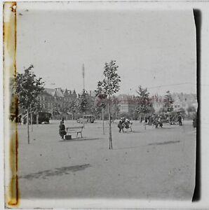Francia Place Foto Stereo PL46Th1n9 Placca Da Lente Vintage C1925