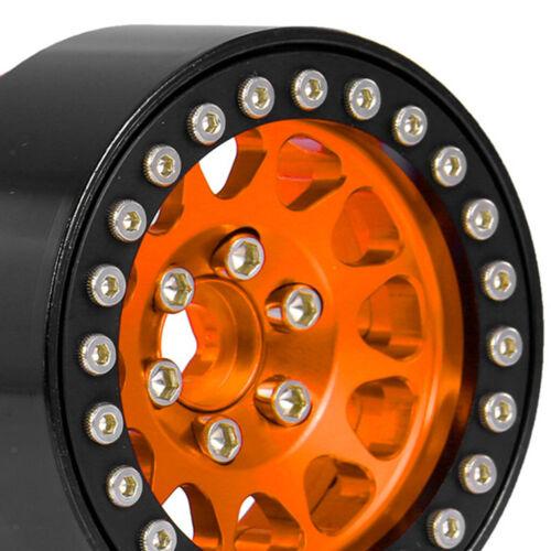 Beadlock Felge 1.9inch 4P Für RC Axial SCX10 Traxxas TRX4 1//10 Car