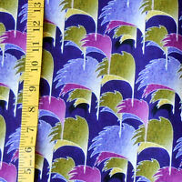Fabric - Noble Family By Mizuki cranes In Flight Purple 100% Cotton - 1 Yard