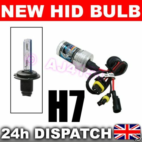 REPLACEMENT XENON HID Bulb H7 15000k Fits 99/% HID Kits