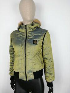 REFRIGIWEAR-Parka-Bomber-Cappotto-Giubbotto-Jacket-Coat-Giacca-Tg-S-Donna-Woman