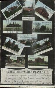 Staten-Island-NY-Multi-View-c1905-Postcard
