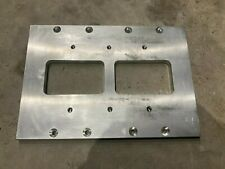 8v 71 8v71 Blower Supercharger Adapter Mounting Plate To 671 Bbc Manifold