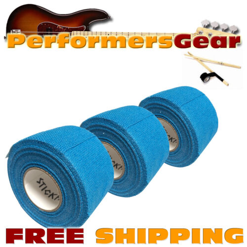 Timbales Cymbal Drumstick Grip Tape Blue 3 RL Stick Handler Premium Percussion