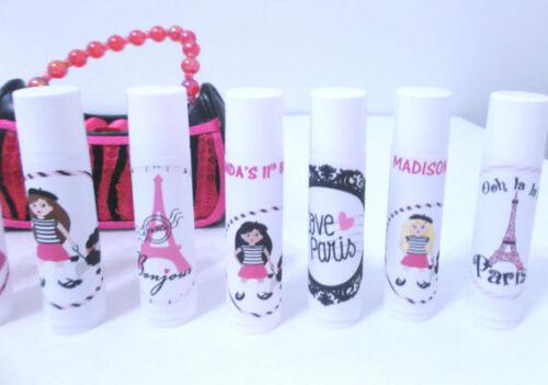 Set of 15 PARIS Themed Lip Balm Party Favors sTyLiSh!!