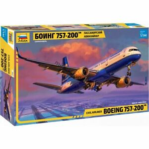 Zvezda 7032 Boeing 757-200 / B752 /american civil airliner/ 1/144