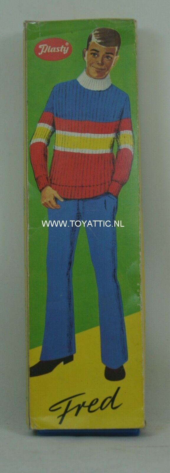 Frojo (Ken Tamaño) Clon Muñeca por Plasty set vintage de 'años 60 en Caja Original