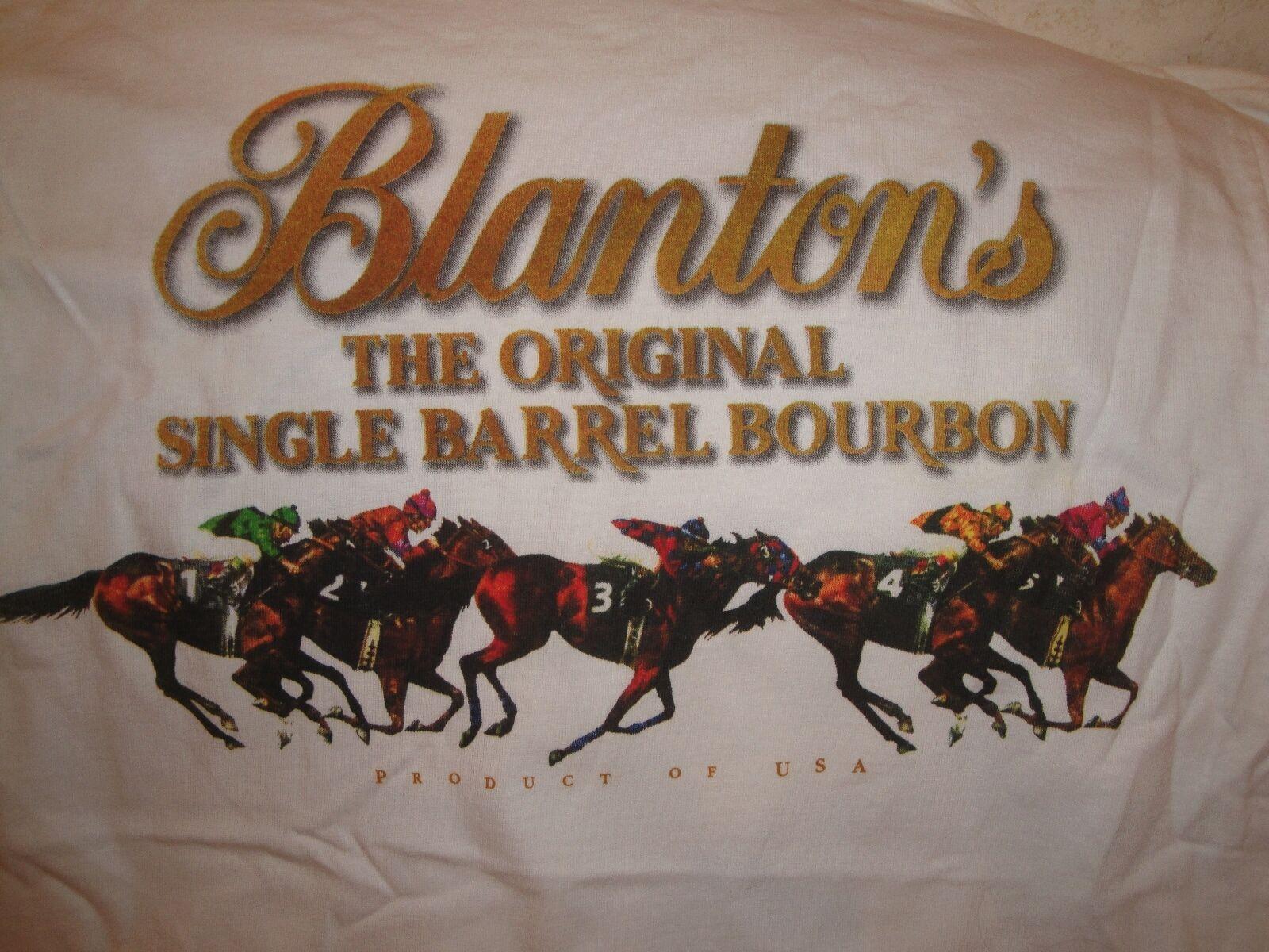 Bulk BLANTONS BOURBON 34 pc Medium T Shirt w  Horse Racing