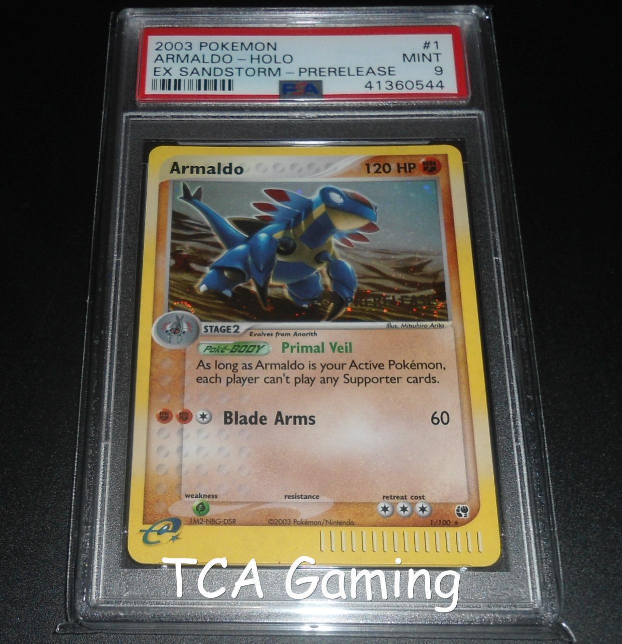 Skarmory 13//111 Neo Genesis 1st Edition PSA 9 Mint Rare Holo Pokemon Card