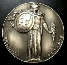 20th Century Belgium Medal Issued in Support of the Arts, by Arthur Dupon / M92