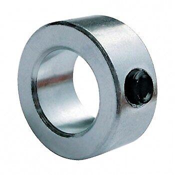 Steel Shaft Collar Clamp 10mm bore x 20mm OD x 10mm depth c//w M5 set screw