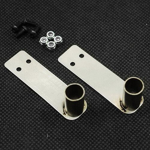 Pair of metal exhaust tips for 1:10 RC may fit Tamiya,HPI,Sakura Axial2