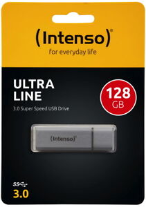Intenso 128GB USB Stick Ultra Line silber USB 3.0
