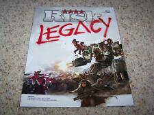 RISK LEGACY INSTRUCTION MANUAL Game Rules Parts Pieces Replacements NEW