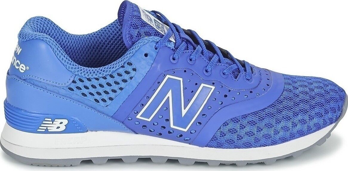 New Balance 574, MTL574CZ, bluee White - Synthetic   Mesh -Re-Engineered