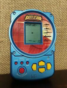 MB BATTLESHIP Electronic Handheld Game 2002 Hasbro Pocket Size Travel Games  eBay