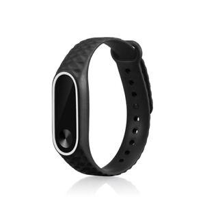 Silikon-Ersatz-Armband-Sport-Uhrenarmband-Strap-fuer-Xiaomi-Mi-Band-2-Watch-13mm