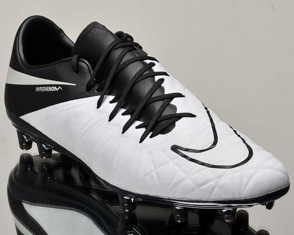 Nike Hypervenom Phinish Leather FGhommesoccer cleats football NOUVEAU 759980-001 Chaussures de sport pour hommes et femmes