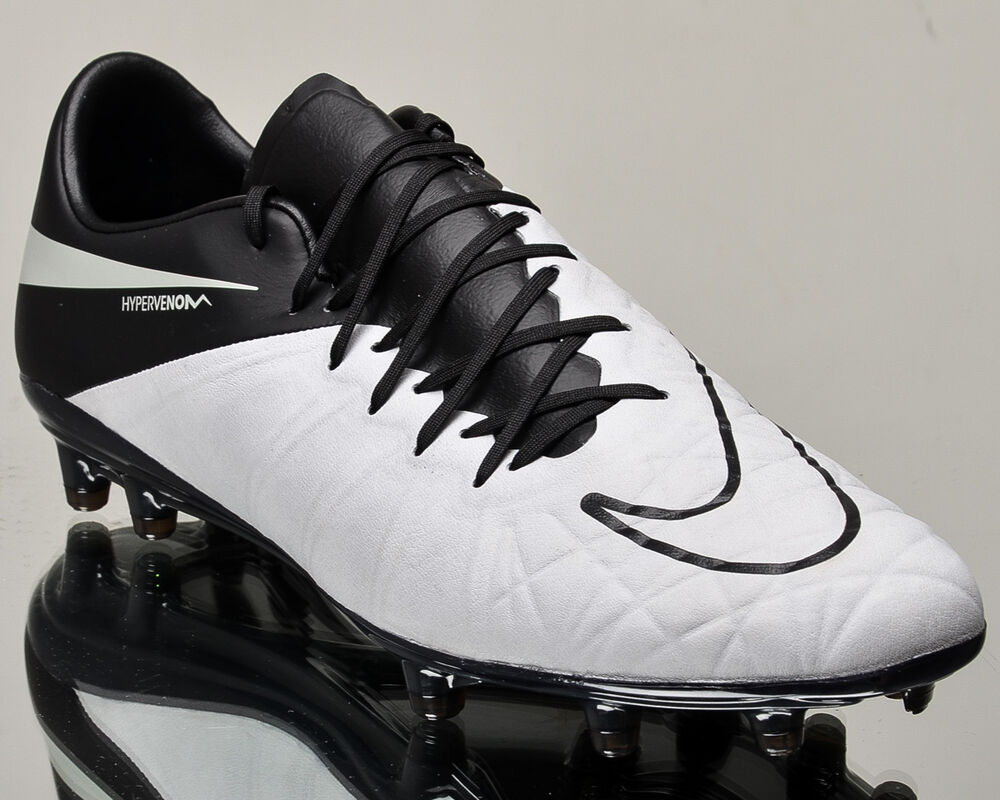 Nike Hypervenom Phinish Leather FGhommesoccer cleats football NEW 759980-001