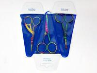 Body Toolz - Titanium Color 4 Scissors- Titanium Color Coated