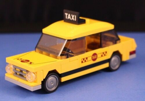 LEGO® City™ 76057 YELLOW TAXI CAB only miniset Stickers New York Taxi 100/% LEGO