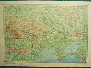 1955 LARGE RUSSIAN MAP RUSSIA CCP CRIMEA UKRAINE ODESSA eBay