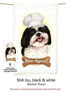 """Cavachon Dog 29/'/' x 29/"""" Flour Sack Towels Bone-Appetite !!"""