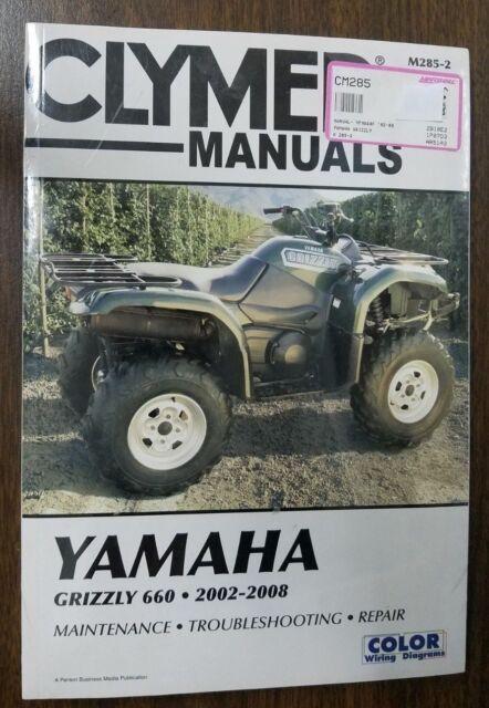 2002-2008 Yamaha Grizzly 660 ATV Yfm660f Repair Manual M2852 on yamaha grizzly plow, bombardier quest wiring diagram, yamaha grizzly led headlights, kawasaki mojave 250 wiring diagram, tao tao 125 atv wiring diagram, suzuki vinson 500 wiring diagram, honda wiring diagram, yamaha grizzly 700 custom, 110 wiring diagram, polaris xplorer 400 wiring diagram, yamaha grizzly lift kit, suzuki king quad 300 wiring diagram, kawasaki kfx400 wiring diagram, yamaha warrior 350 engine schematics, suzuki intruder 600 wiring diagram, yamaha grizzly windshield, yamaha grizzly schematics, suzuki king quad 750 wiring diagram, yamaha yzf 600 wiring diagram, yamaha grizzly 660 headlights,