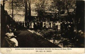 CPA PARIS 13e - Ecole d'Enseignement Technique Feminim (77598)