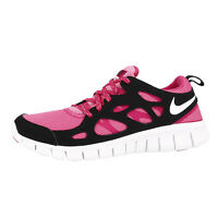 NIKE FREE RUN 2 LE GS SHOES RUNNING SHOES SNEAKER SNEAKERS PINK BLACK 644404-600