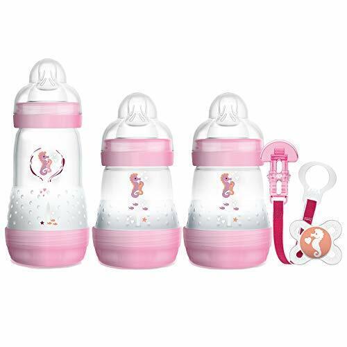 nouveau-né Bouteille Set avec 0-2 mois Bébé Sucettes MAM Bienvenue dans le monde Set