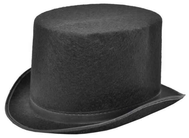 Morris Costumes Top Hat Black Felt Medium GA101MD