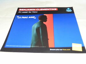 Benjamin-Clementine-At-Least-For-Now-French-Record-Promo-Adv-Display