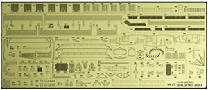 Hasegawa-1-350-Aircraft-Carrier-Junyo-Detail-Up-Photo-Etched-Parts-Basic-B-NEW