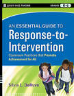 The Essential Guide to RTI: An Integrated, Evidence-Based Approach by Silvia L. DeRuvo (Paperback, 2010)