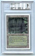 Magic The Gathering WOTC MTG Revised Dual Land Bayou BGS 9 Graded Card 1994