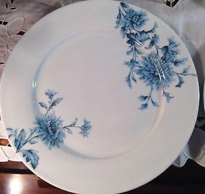 Spode-Vintage-Denim-Blue-Porcelain-Dinner-Plates-Set-of-4-NEW