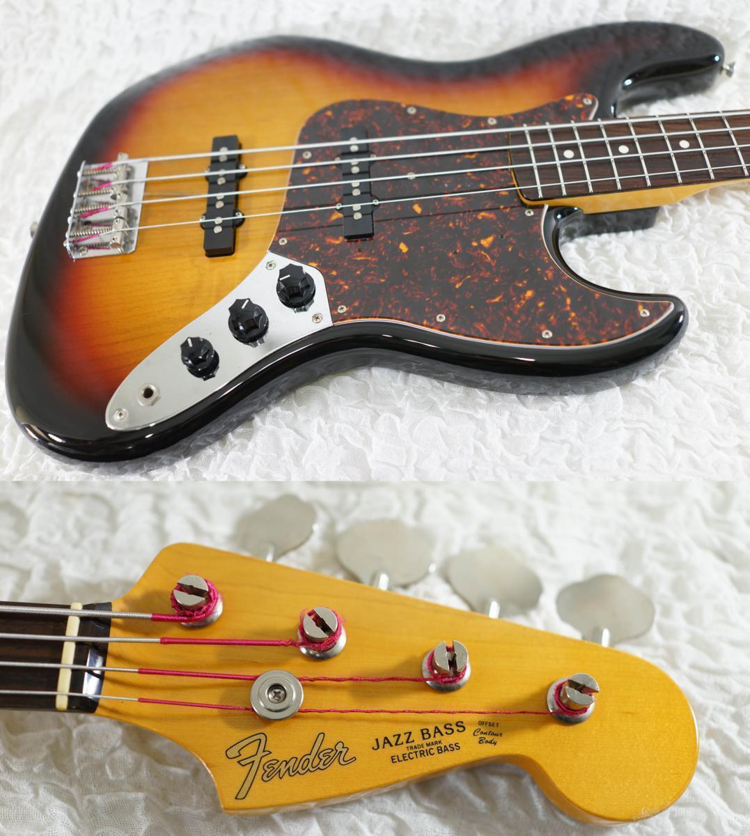 Fender Japan JB62-58US JAZZ BASS 3TS 2002-2004 beautiful rare EMS F S