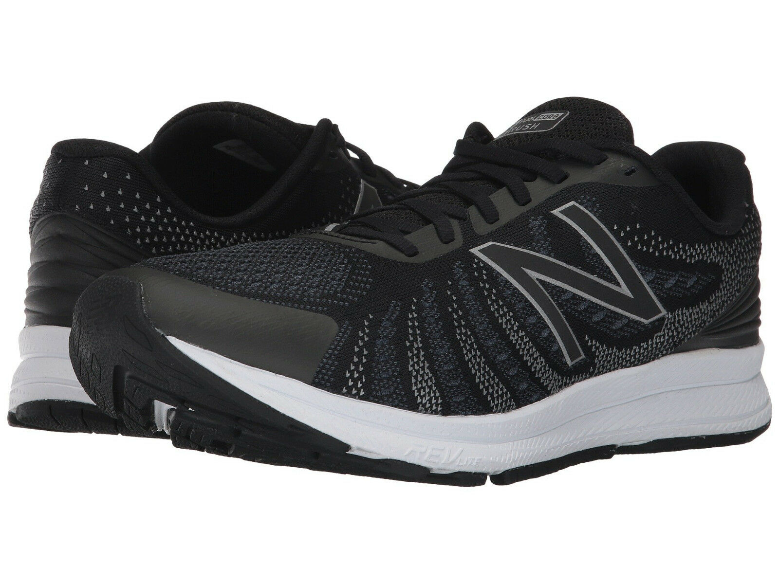 New Balance Men's Rush US 14 D Black Mesh Running Sneakers shoes  110.00