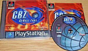 PS1 Spiel * CYBALL ZONE CBZ Playstation 1 PSone PS2 spielbar Orig. Version - Herxheim, Deutschland - PS1 Spiel * CYBALL ZONE CBZ Playstation 1 PSone PS2 spielbar Orig. Version - Herxheim, Deutschland