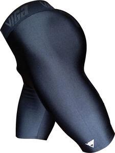 Viga Mercury 2 Lycra Mini Short Uni Sex Multisport Run Sprint Dance Yoga Shiny