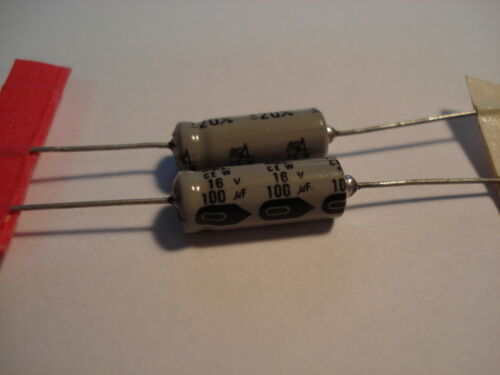 100uf 16V AXIAL ELECTROLYTIC CAPACITOR Capacitor 2